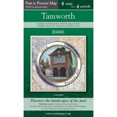 Tamworth - Cassini Past and Present Map - 4 maps from 4 periods