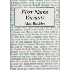 First Name Variants - 2nd edition
