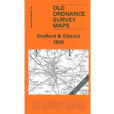 Stafford and District 1898 - Old Ordnance Survey Maps - The Godfrey Edition
