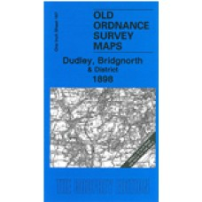 Dudley, Bridgnorth and District 1898 - Old Ordnance Survey Maps - The Godfrey Edition