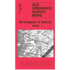 Birmingham and District 1910 - Old Ordnance Survey Maps - The Godfrey Edition