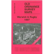Warwick and Rugby 1897(Coloured edition) - Old Ordnance Survey Maps - The Godfrey Edition