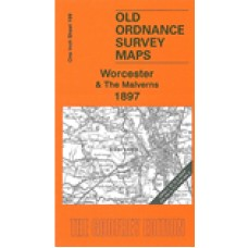 Worcester and The Malverns 1897 - Old Ordnance Survey Maps - The Godfrey Edition