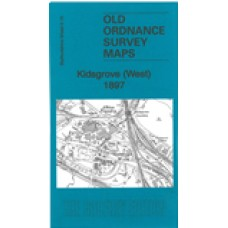 Kidsgrove (West) 1897 - Old Ordnance Survey Maps - The Godfrey Edition