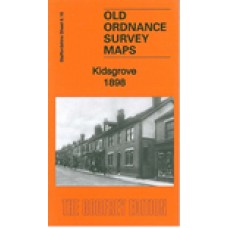Kidsgrove 1898 - Old Ordnance Survey Maps - The Godfrey Edition