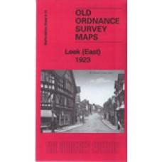 Leek (East) 1923 - Old Ordnance Survey Maps - The Godfrey Edition