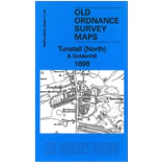Tunstall (N) and Goldenhill 1898 - Old Ordnance Survey Maps - The Godfrey Edition