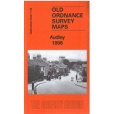 Audley 1898 - Old Ordnance Survey Maps - The Godfrey Edition