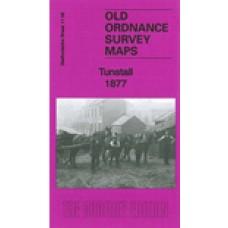 Tunstall 1877 - Old Ordnance Survey Maps - The Godfrey Edition