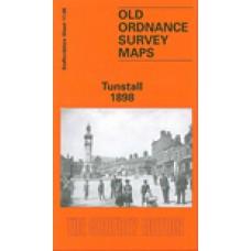 Tunstall 1898 - Old Ordnance Survey Maps - The Godfrey Edition