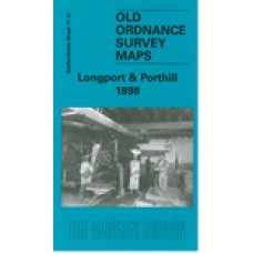 Longport and Porthill 1898 - Old Ordnance Survey Maps - The Godfrey Edition