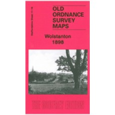 Wolstanton 1898 - Old Ordnance Survey Maps - The Godfrey Edition