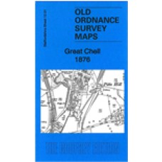 Great Chell 1876 - Old Ordnance Survey Maps - The Godfrey Edition