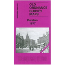 Burslem 1877(coloured edition) - Old Ordnance Survey Maps - The Godfrey Edition
