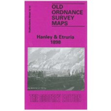 Hanley and Etruria 1898 - Old Ordnance Survey Maps - The Godfrey Edition