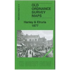 Hanley and Etruria 1877(Coloured Edition) - Old Ordnance Survey Maps - The Godfrey Edition