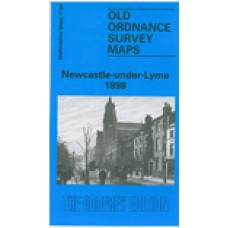 Newcastle-under-Lyme 1898 - Old Ordnance Survey Maps - The Godfrey Edition