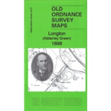 Longton (Adderley Green) 1898 - Old Ordnance Survey Maps - The Godfrey Edition