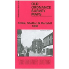 Stoke, Shelton and Hartshill 1898 - Old Ordnance Survey Maps - The Godfrey Edition
