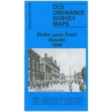 Stoke upon Trent (South) 1898 - Old Ordnance Survey Maps - The Godfrey Edition