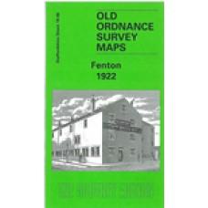 Fenton 1922 - Old Ordnance Survey Maps - The Godfrey Edition