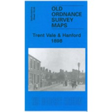 Trent Vale and Hanford 1898 - Old Ordnance Survey Maps - The Godfrey Edition