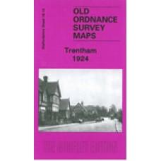 Trentham 1924 - Old Ordnance Survey Maps - The Godfrey Edition
