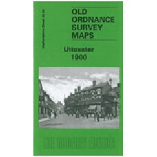 Uttoxeter 1900 - Old Ordnance Survey Maps - The Godfrey Edition