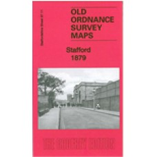 Stafford 1879 - Old Ordnance Survey Maps - The Godfrey Edition