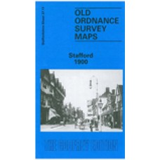 Stafford 1900 - Old Ordnance Survey Maps - The Godfrey Edition