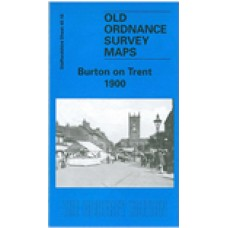 Burton on Trent 1900 - Old Ordnance Survey Maps - The Godfrey Edition