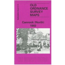 Cannock (North) 1902 - Old Ordnance Survey Maps - The Godfrey Edition