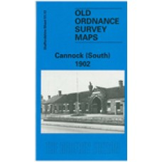 Cannock (South) 1902 - Old Ordnance Survey Maps - The Godfrey Edition