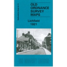 Lichfield 1921 - Old Ordnance Survey Maps - The Godfrey Edition