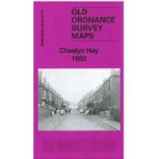 Cheslyn Hay 1882 - Old Ordnance Survey Maps - The Godfrey Edition