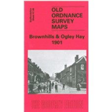 Brownhills and Ogley Hay 1901 - Old Ordnance Survey Maps - The Godfrey Edition
