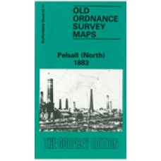Pelsall (North) 1883 - Old Ordnance Survey Maps - The Godfrey Edition