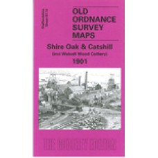Shire Oak and Catshill 1901 - Old Ordnance Survey Maps - The Godfrey Edition