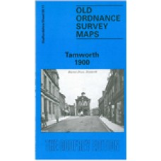 Tamworth 1900 - Old Ordnance Survey Maps - The Godfrey Edition