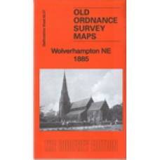 Wolverhampton NE 1885 - Old Ordnance Survey Maps - The Godfrey Edition