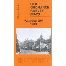 Willenhall (SW) 1913 - Old Ordnance Survey Maps - The Godfrey Edition