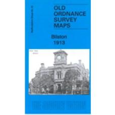 Bilston 1913 - Old Ordnance Survey Maps - The Godfrey Edition