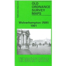 Wolverhampton (NW) 1901 - Old Ordnance Survey Maps - The Godfrey Edition