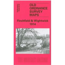 Finchfield and Wightwick 1914 - Old Ordnance Survey Maps - The Godfrey Edition