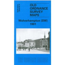 Wolverhampton (SW) 1901 - Old Ordnance Survey Maps - The Godfrey Edition
