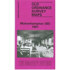 Wolverhampton (SE) 1901 - Old Ordnance Survey Maps - The Godfrey Edition