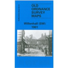 Willenhall (SW) 1901 - Old Ordnance Survey Maps - The Godfrey Edition