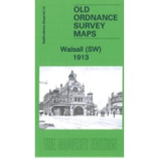 Walsall (SW) 1913 - Old Ordnance Survey Maps - The Godfrey Edition