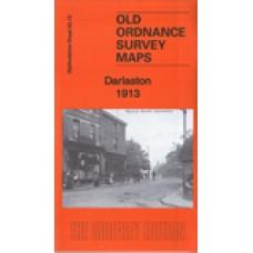 Darlaston 1913 - Old Ordnance Survey Maps - The Godfrey Edition