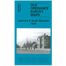 Leamore and South Bloxwich 1900 - Old Ordnance Survey Maps - The Godfrey Edition
